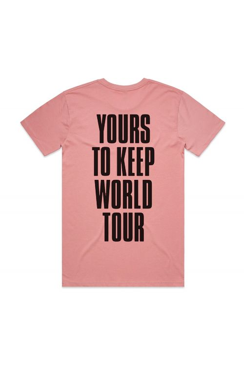 Yours To Keep World Rose Tshirt by Sticky Fingers